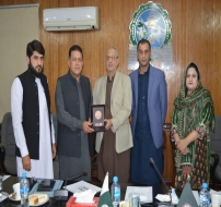 CEO NPO visit to Sarhad Chamber of Commerce and Industry (SCCI)