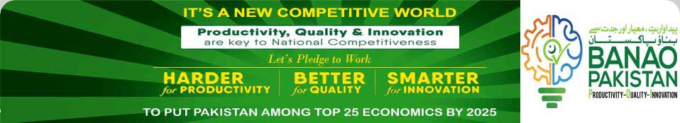 Pakistan Productivity, Quality & Innovation (PQI) Initiative